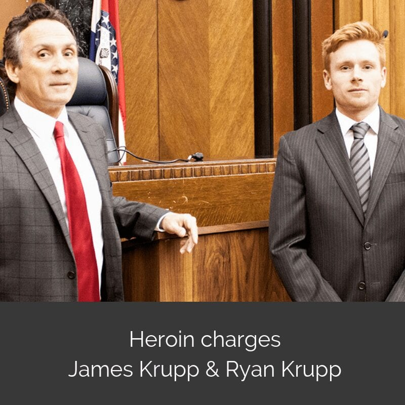 Heroin charges